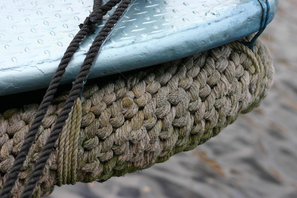 绳子编织的布
